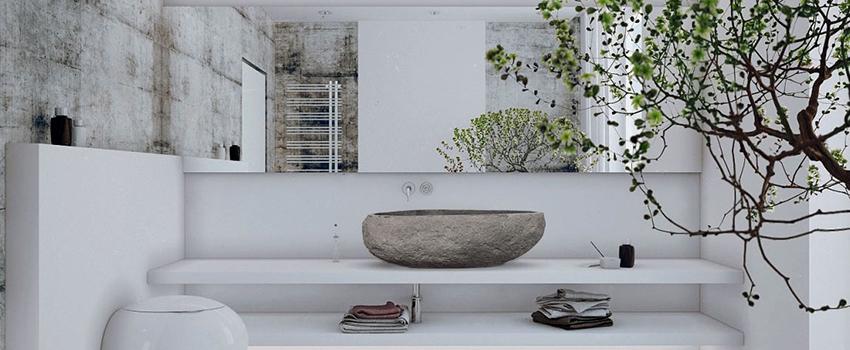 5 estilos de baños zen