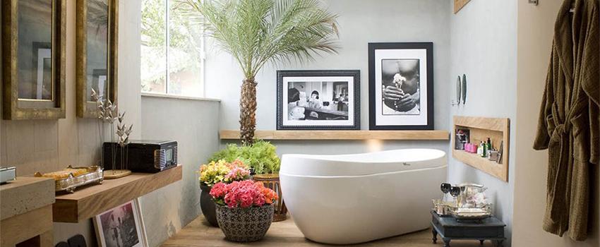 Decorar el baño con cuadros