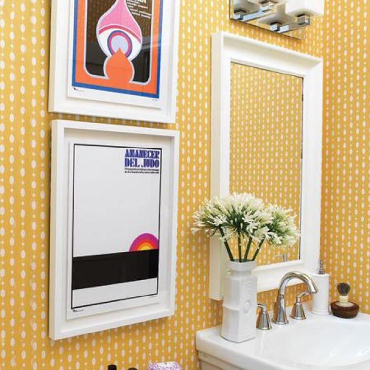 Decorar el baño con cuadros | Instalaciones Rasu